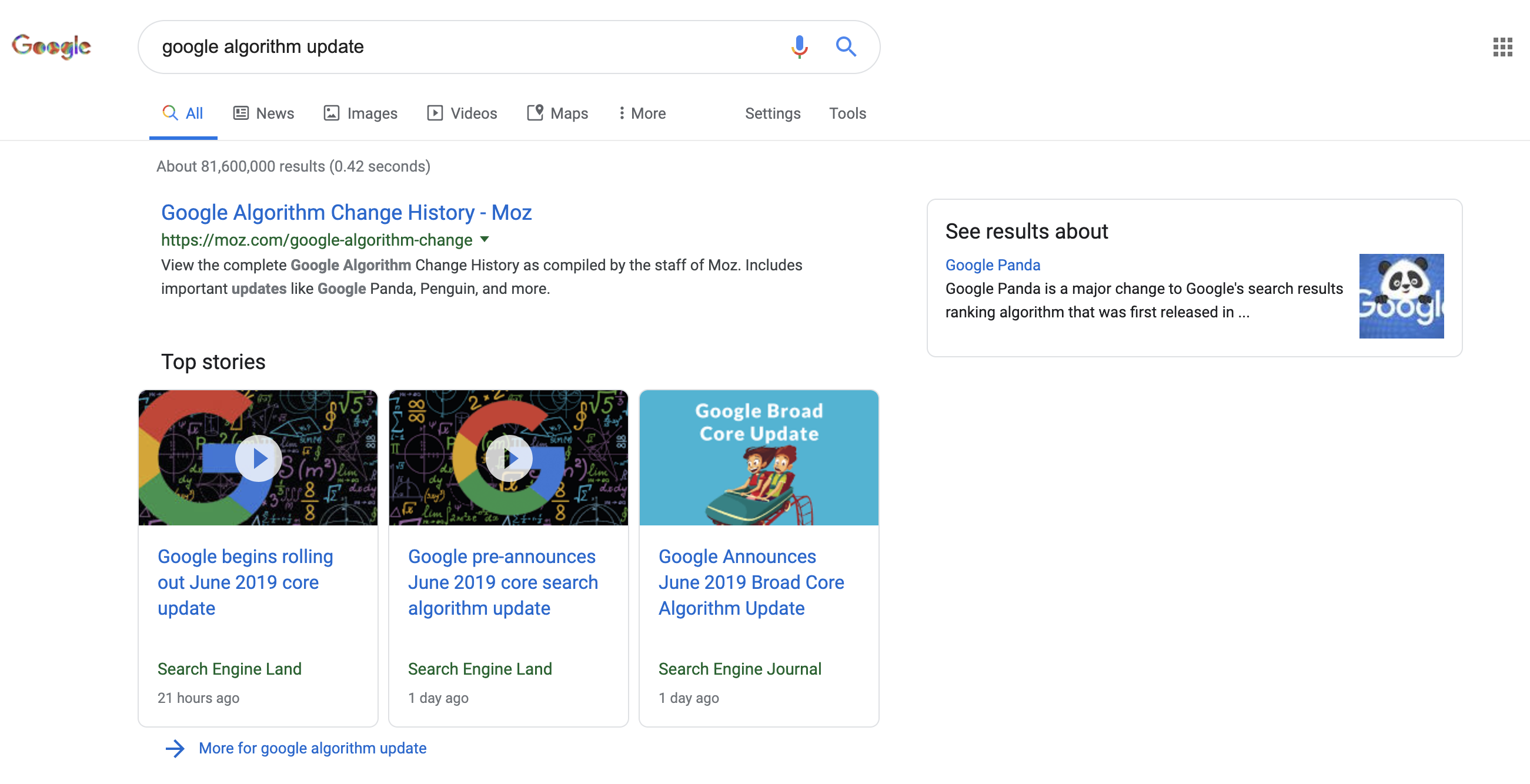 Google Began Rolling Out Core Algorithm Update on June 3rd