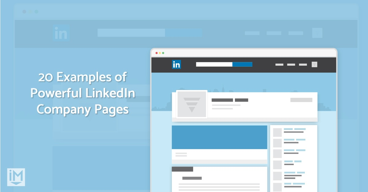 20 Examples of Powerful LinkedIn Company Pages