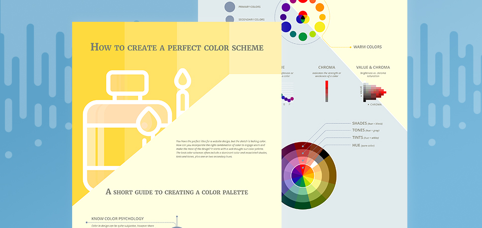 Tips for creating a perfect color scheme for your brand [Infographic]