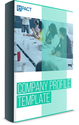 Get It Now. Free Template: Create A Company Profile ...  Corporate Profile Template
