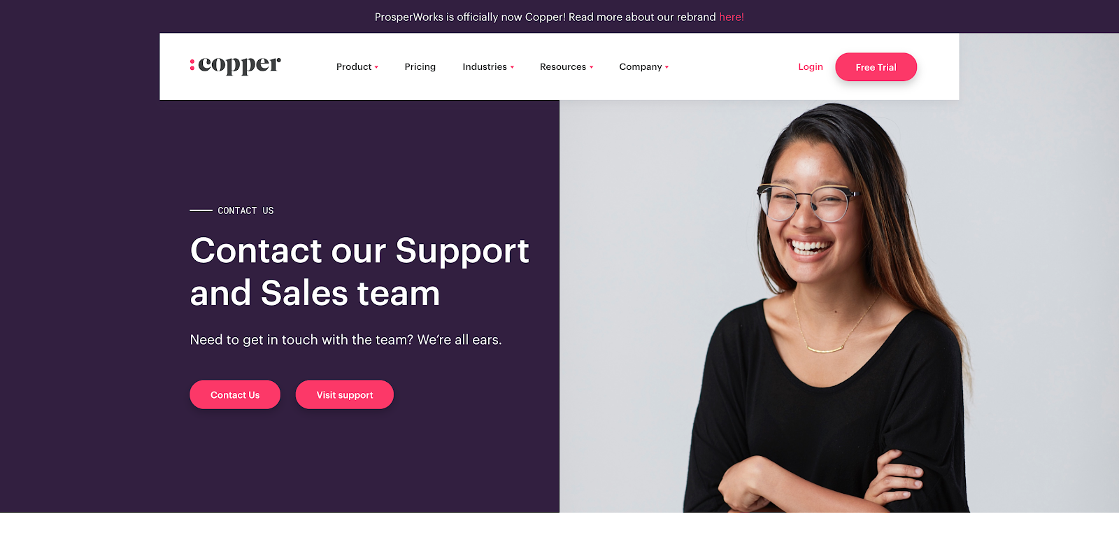 25 Best Contact Us Page Examples To Inspire Yours Updated For 2020