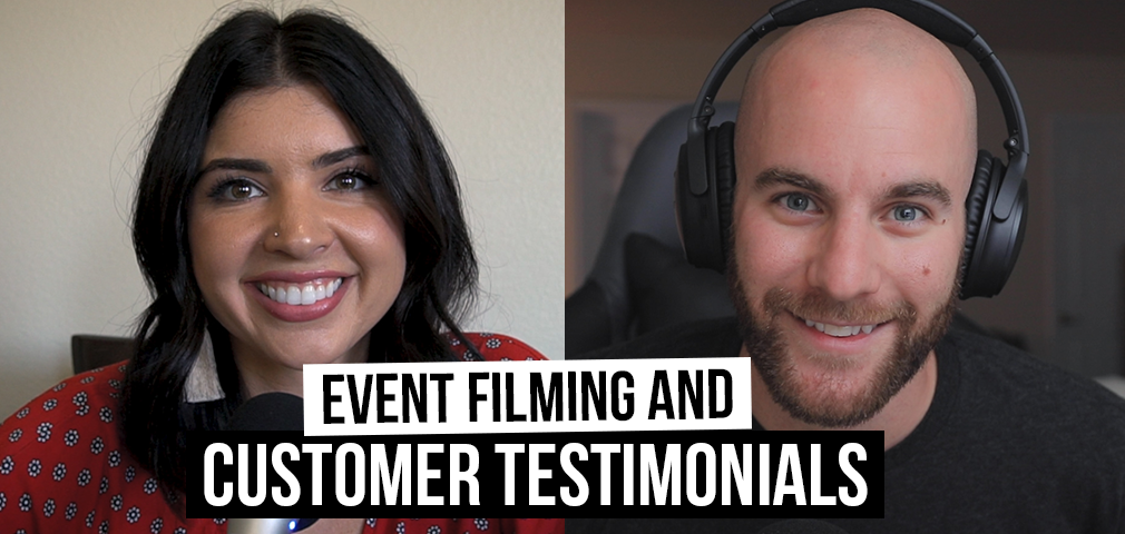 Customer Testimonials, Filming at Events, & Producer Problems [Film School For Marketers Podcast, Ep. 20]