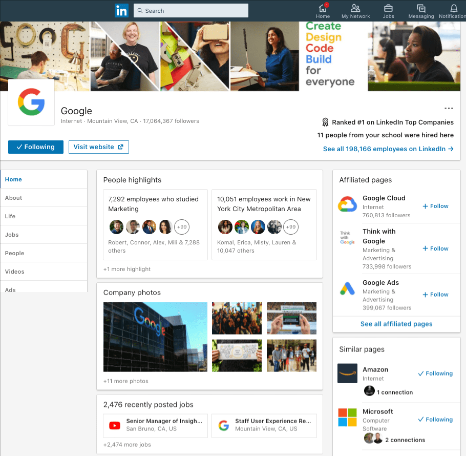 Google_Overview_LinkedIn