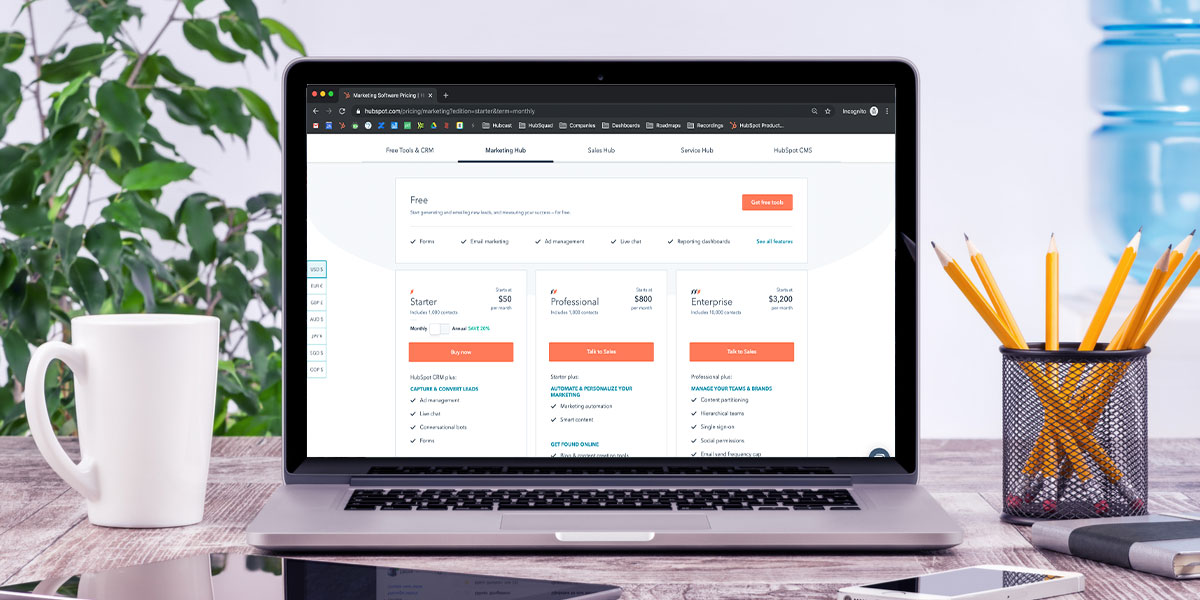 HubSpot pricing: Your guide to everything HubSpot costs for 2020