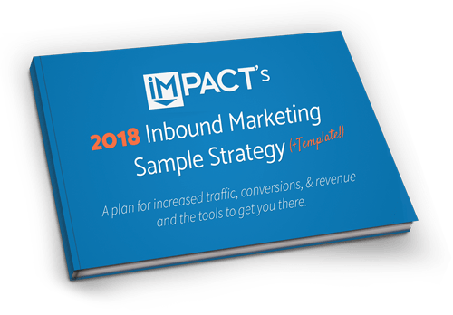 Have you filled these 4 gaps in your marketing performance blueprint impress in 2018 with impacts inbound marketing strategy template example malvernweather Images