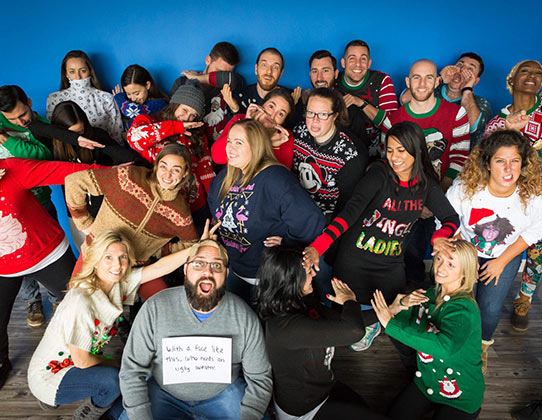IMPACT Christmas Team Photo