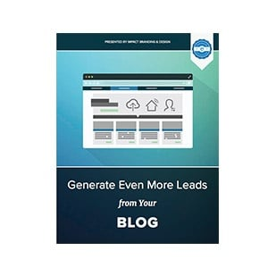 Inbound Marketing Ebook - IMPACT Conversion Collection - Generate Even More Leads from Your Blog