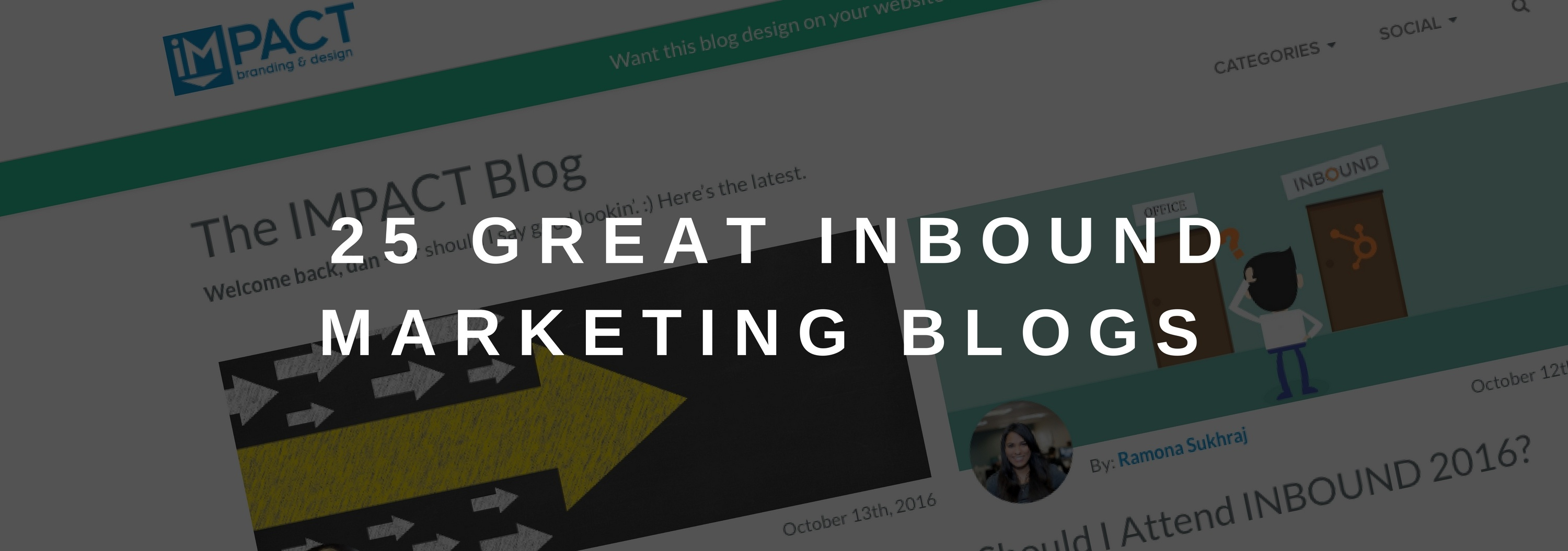25 Great Inbound Marketing Blogs You Should Be Reading