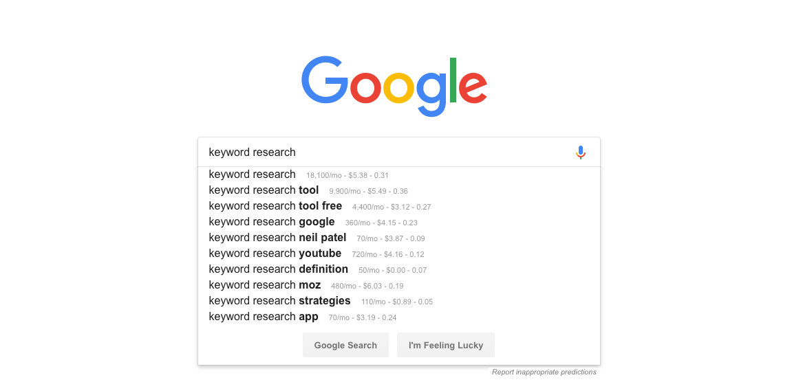 Top 5 Easy Keyword Research Tools to Improve Your Content in 2019