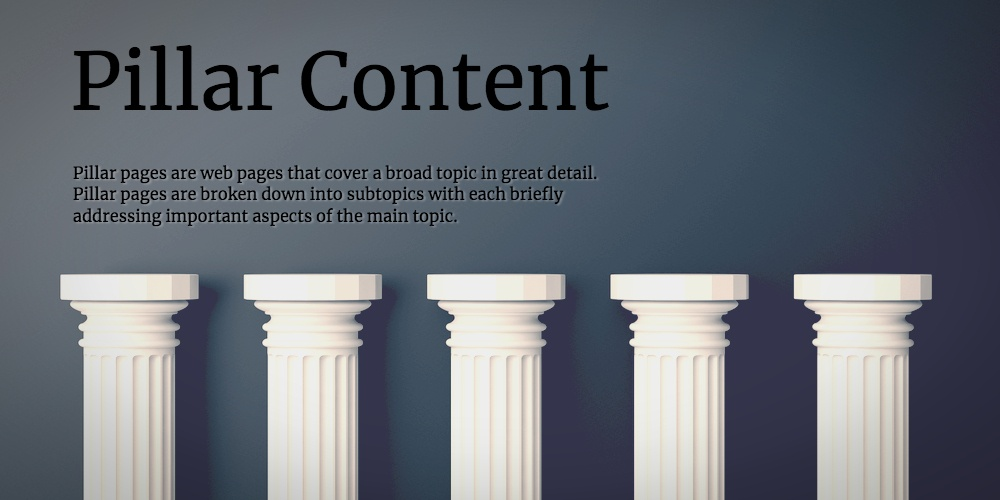 Definition of a Pillar Page [In Under 100 Words]
