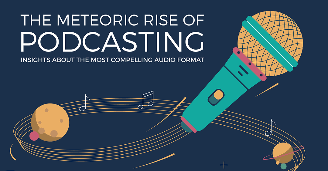 Essential podcast statistics and trends for marketers [Infographic]