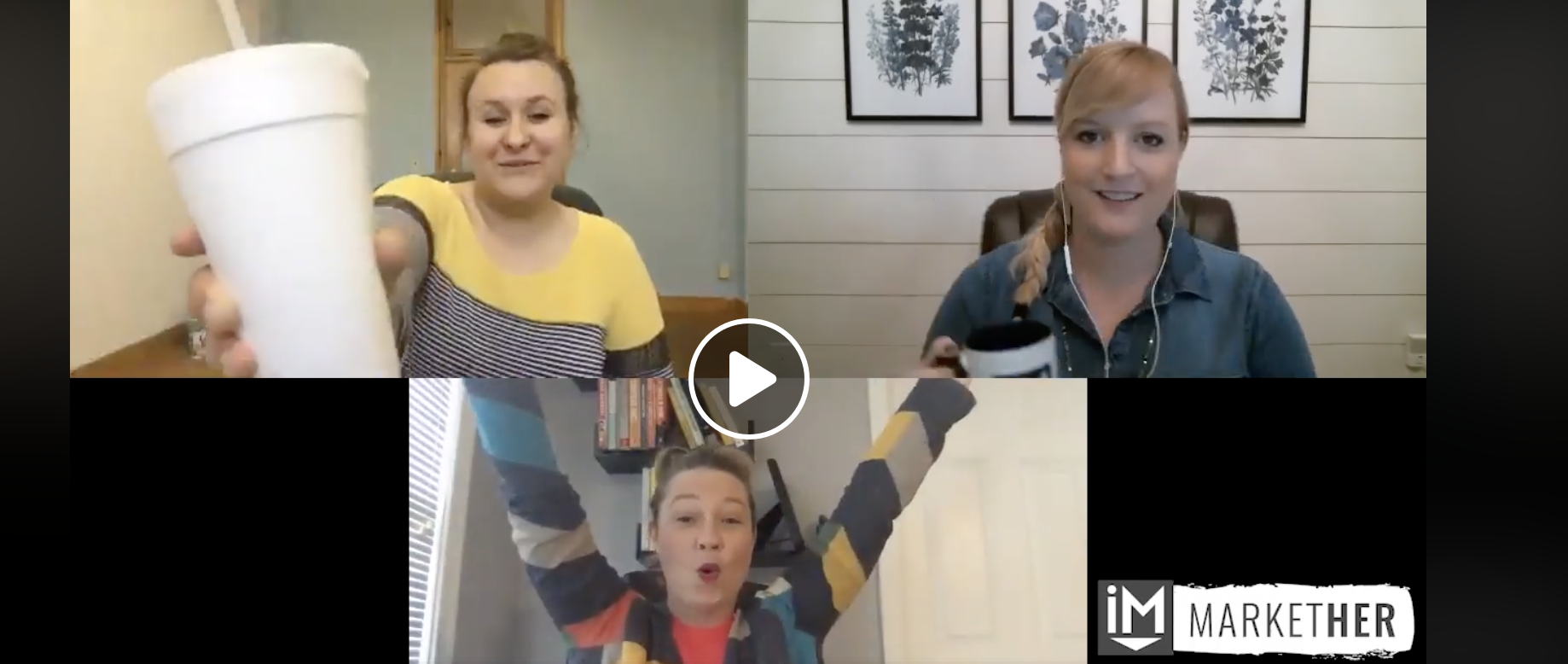 Behind The Curtain: What the MarketHer Ladies are Working on This Month [MarketHer Ep. 45]