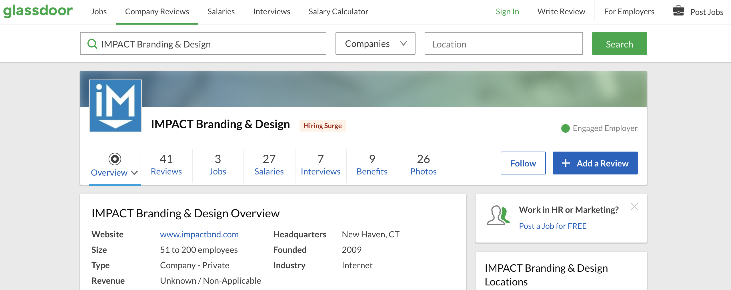 How do I increase my Glassdoor rating?
