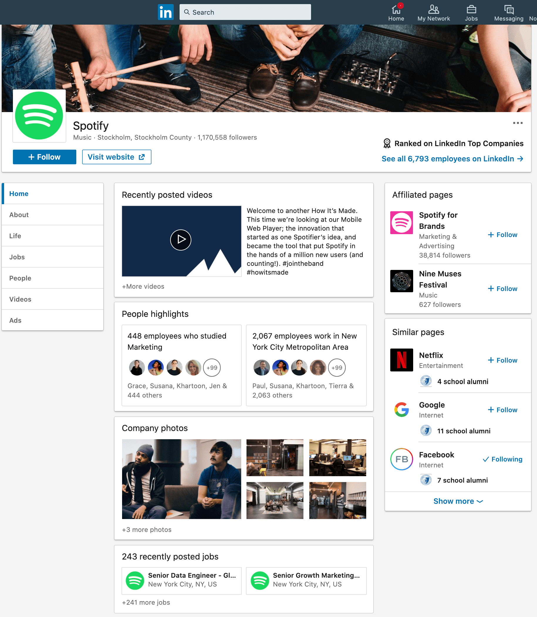 Spotify_Overview_LinkedIn
