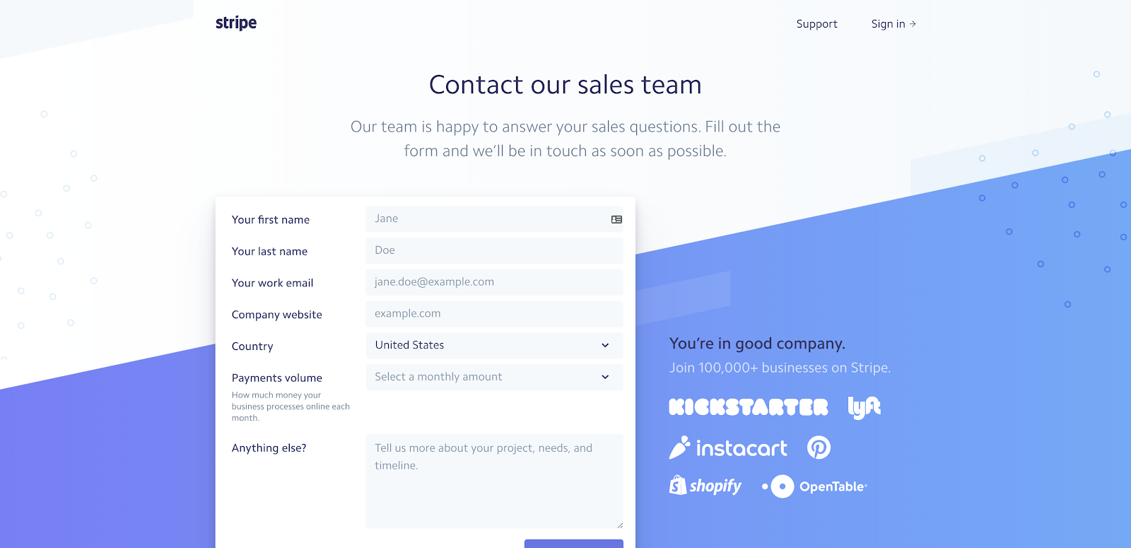 25 Best Contact Us Page Examples to Inspire Yours (Updated for 2020)