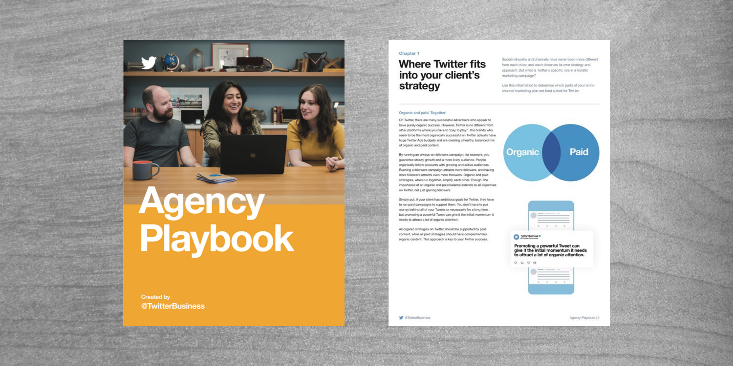 Twitter Releases Agency Playbook for All Things Twitter