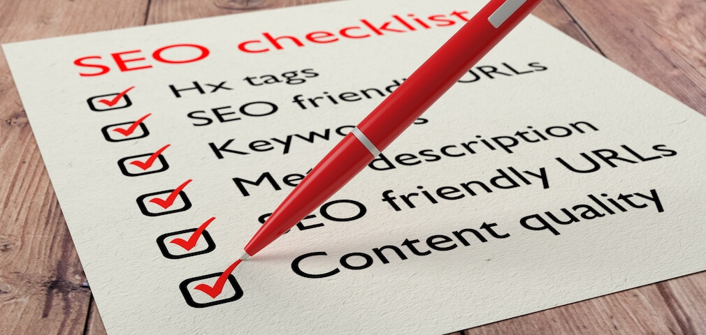The Ultimate SEO Checklist [Infographic]