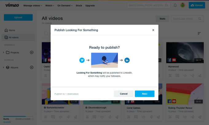 LinkedIn Embraces Video with New Vimeo Integration