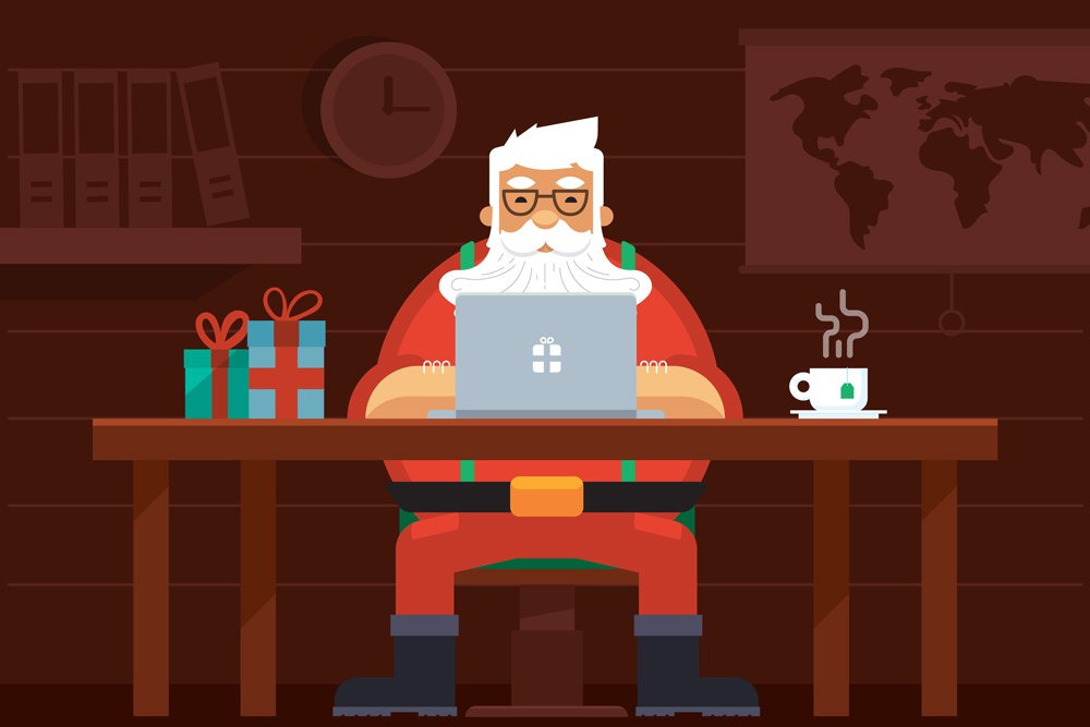 Santa Meets Cyber: Surprising Trends for the 2017 Holiday Season [Infographic]