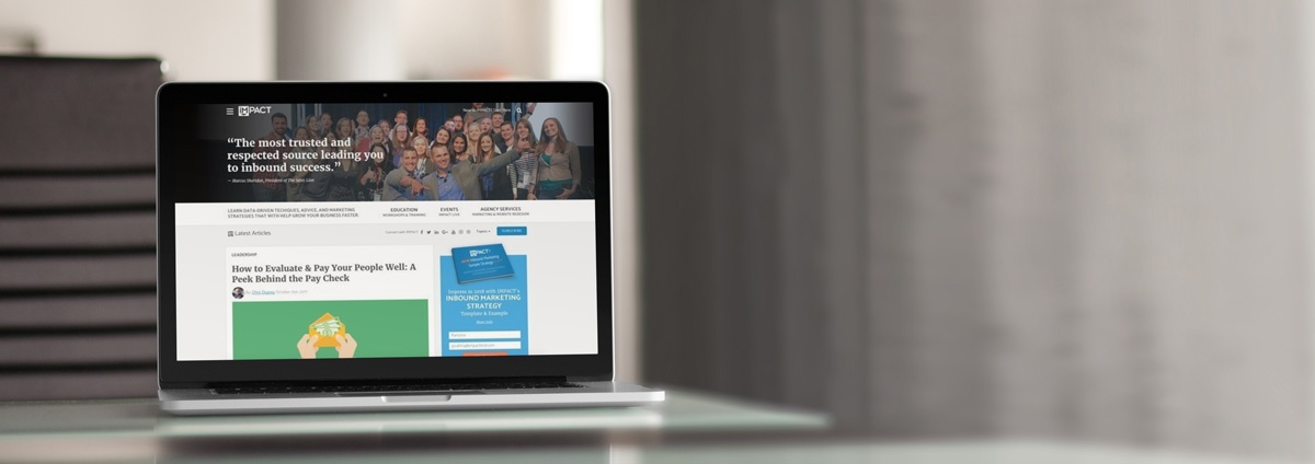 The Story Behind IMPACT's Website Redesign