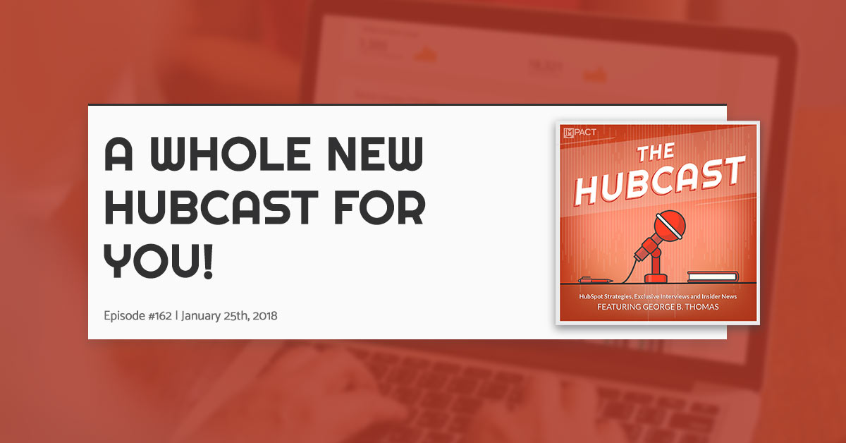Hubcast 162: A Whole New Hubcast For You!