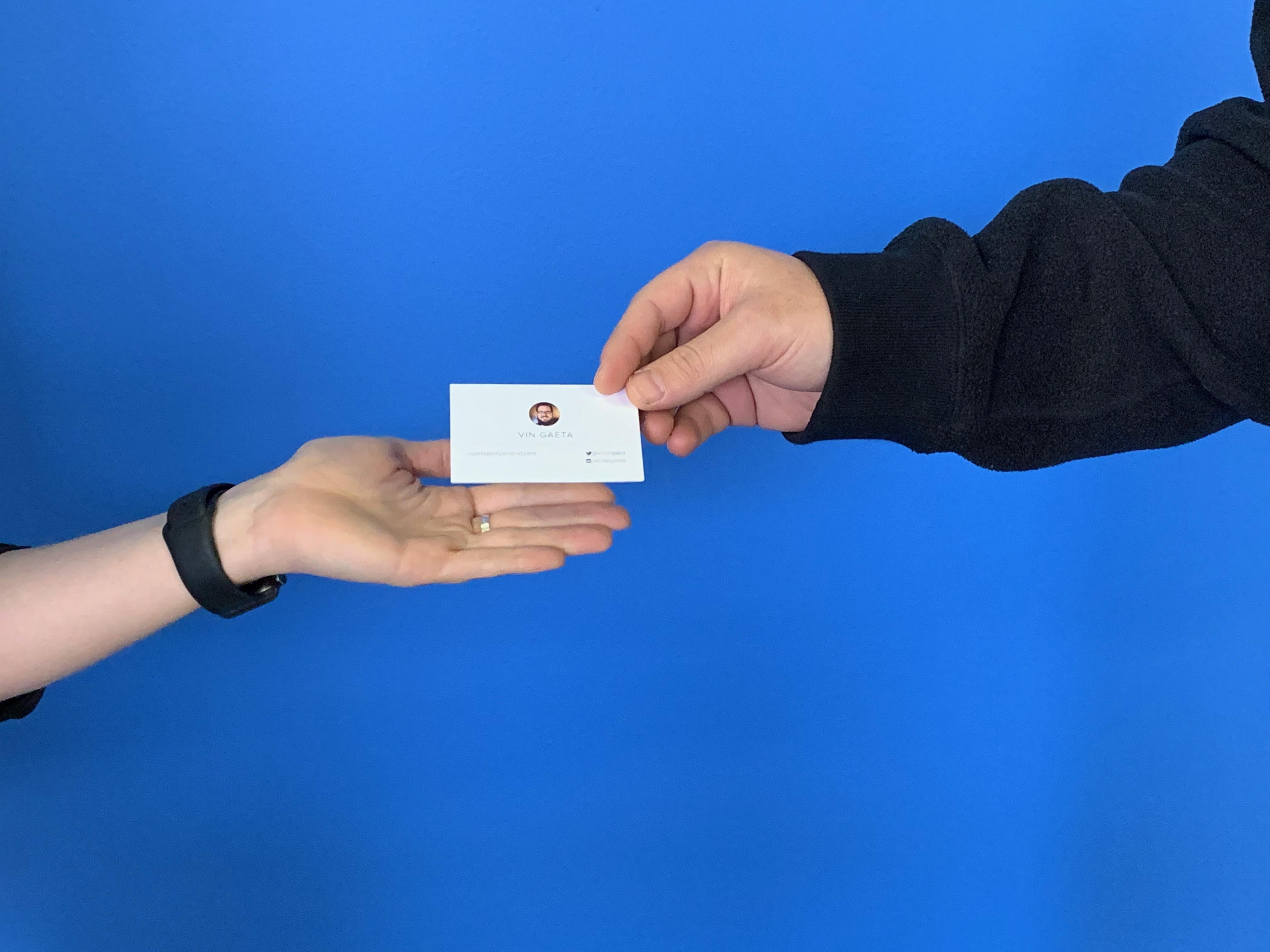4 Ways to Show Immediate Value to Your Sales Team with HubSpot's New Business Card Scanner Tool