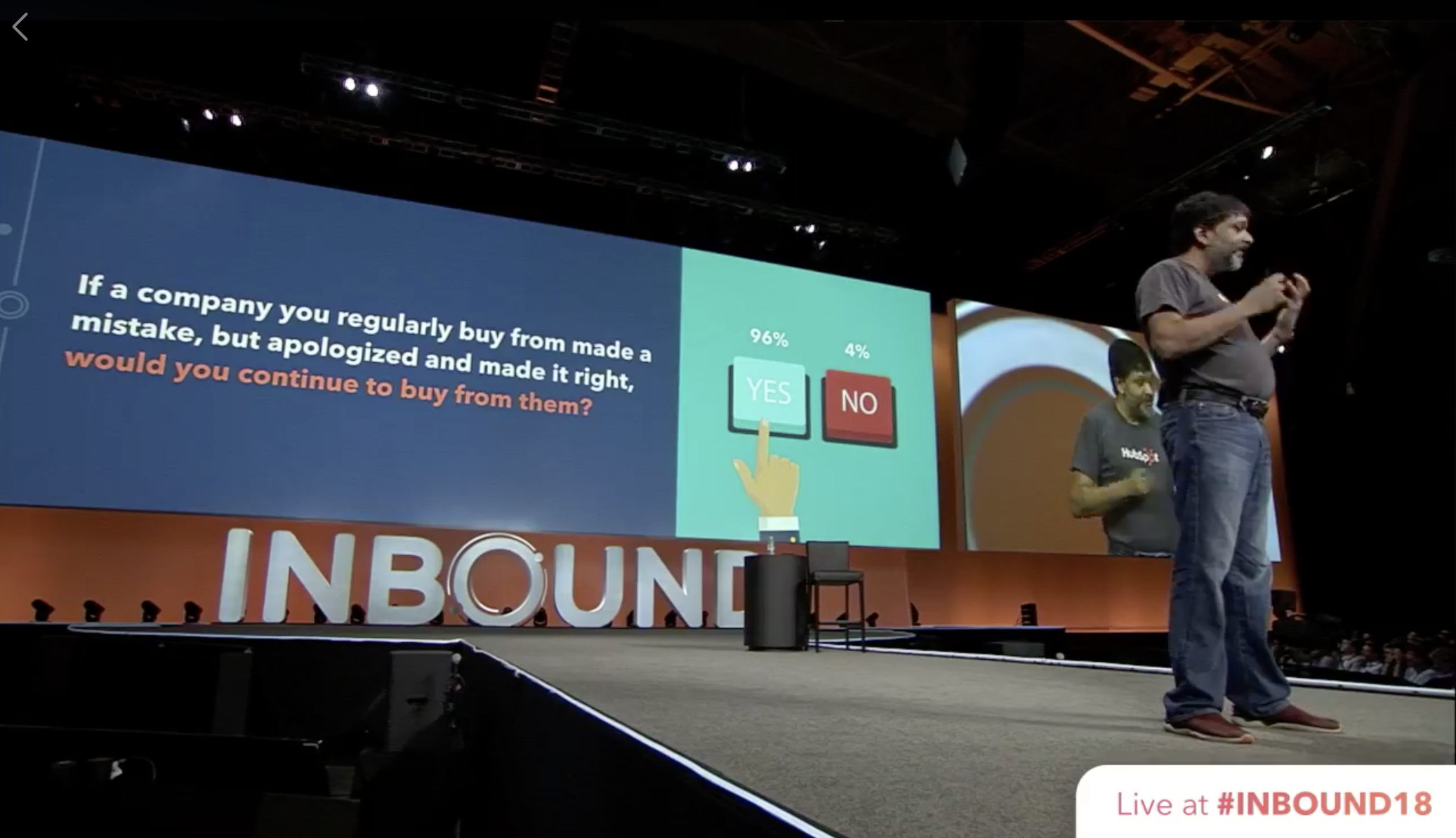 "HubSpot Outage During #INBOUND18 Is a Timely ""Own Your Screw-up"" Lesson"