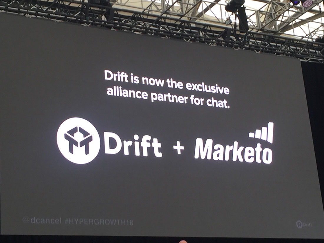 Drift and Marketo are Partnering Up! What's Next?