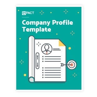 Inbound Marketing Ebook - Company Profile Template