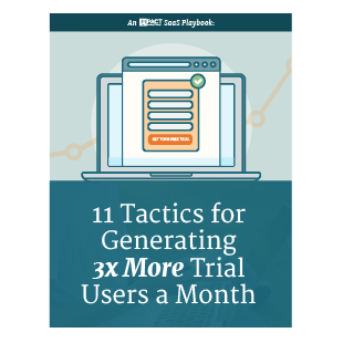 Inbound Marketing Ebook - Tactics for Generating 3x More Trial Users a Month