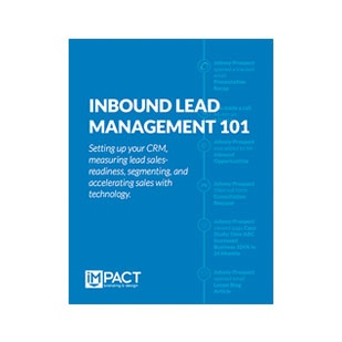 Inbound Marketing Ebook - Inbound Lead Management 101