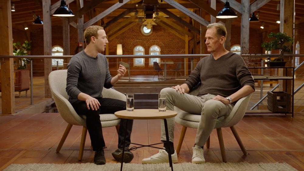 Zuckerberg Is Pondering a 'News' Tab on Facebook [+Interview Video]