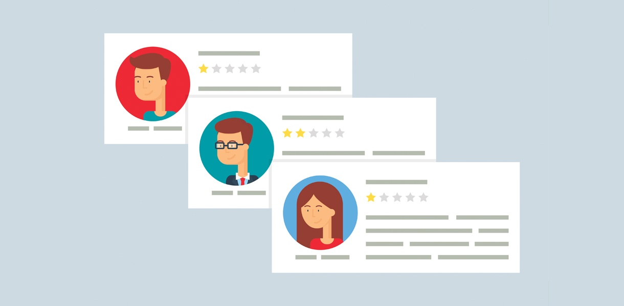 How to Deal With Fake Negative Reviews Online [Infographic]