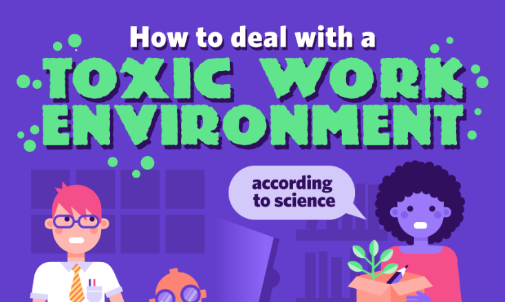 How to Harness the Power of Science to Cope with a Toxic Work Environment [Infographic]