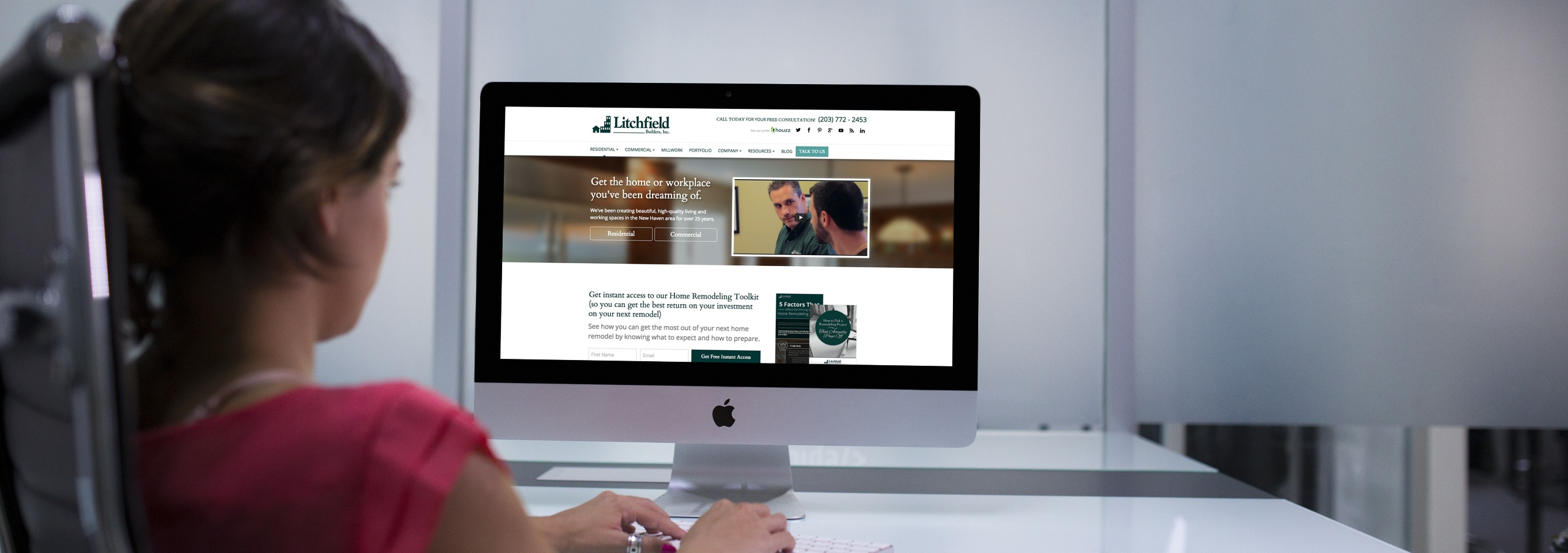 Local Contractor Grows Reach with Website Redesign & Inbound Strategy