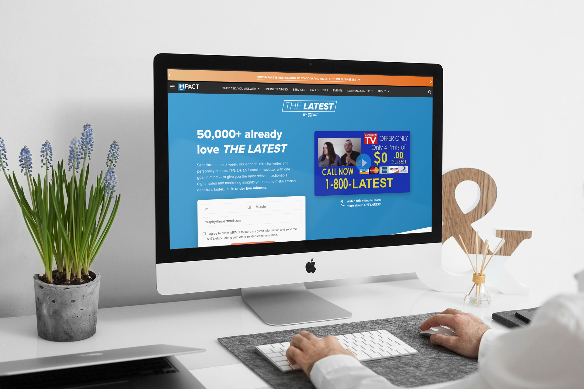 The Selling 7: 5 best landing page video examples (updated for 2020)