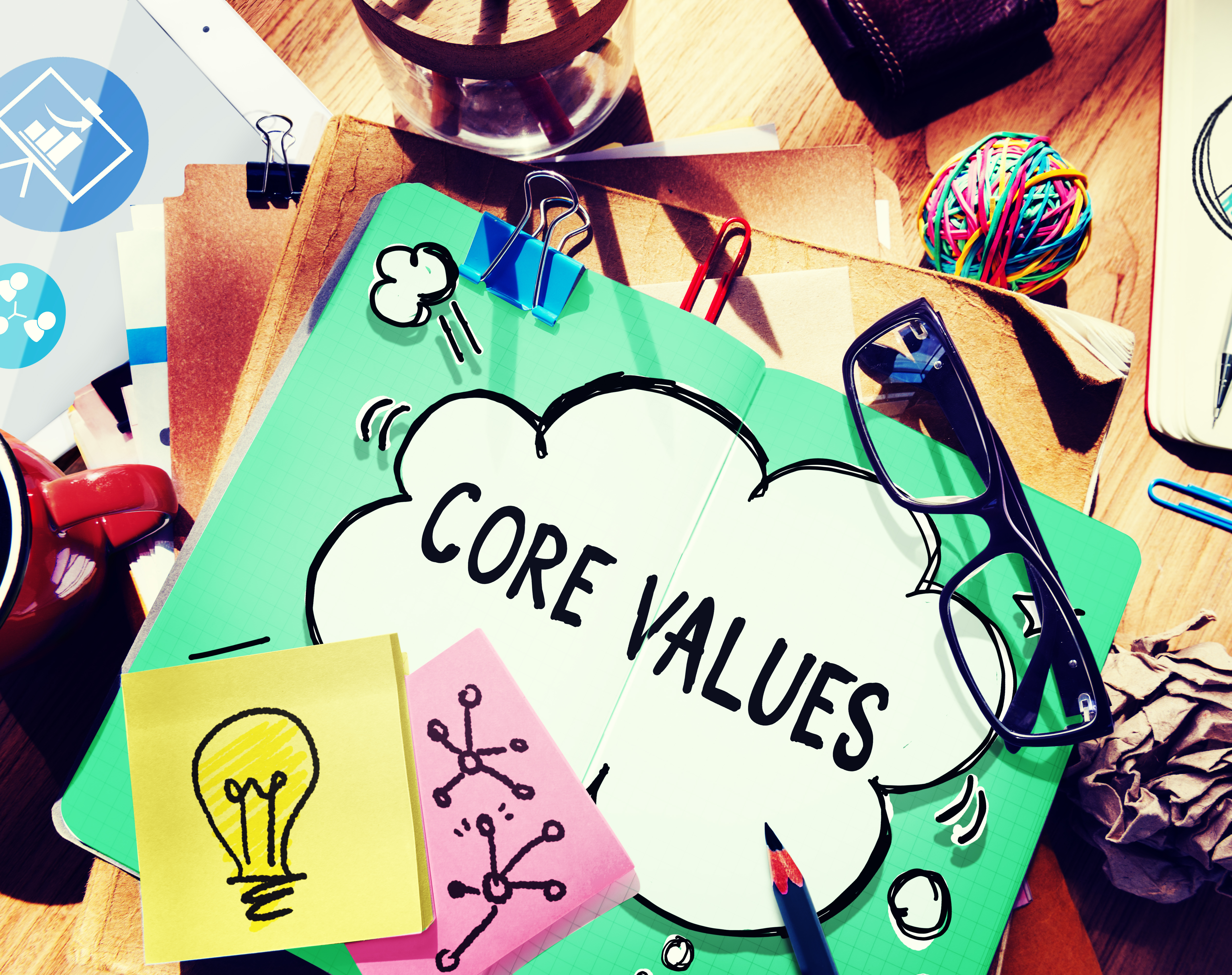 4 Steps to Creating Your Company Core Values
