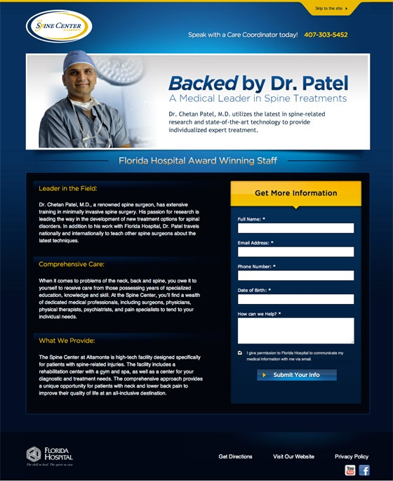 spine_center_landing_page