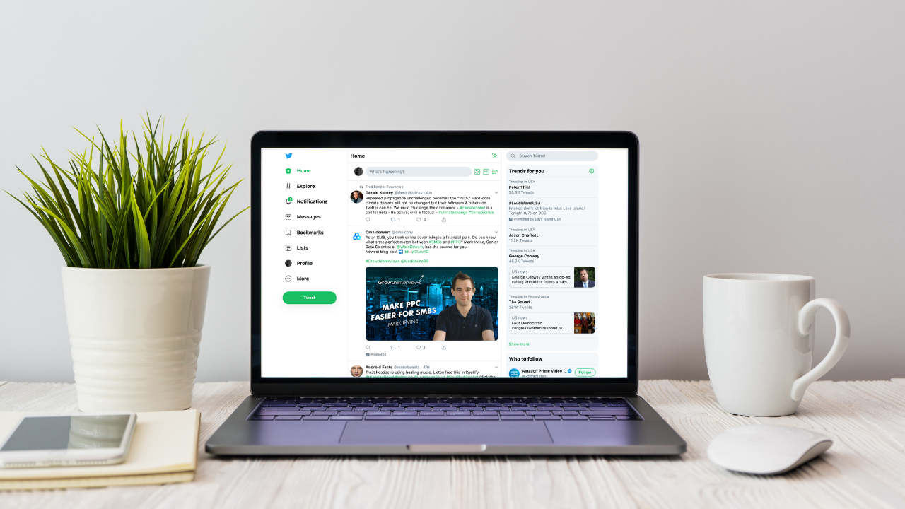 Twitter's Desktop Gets a Much Needed Redesign