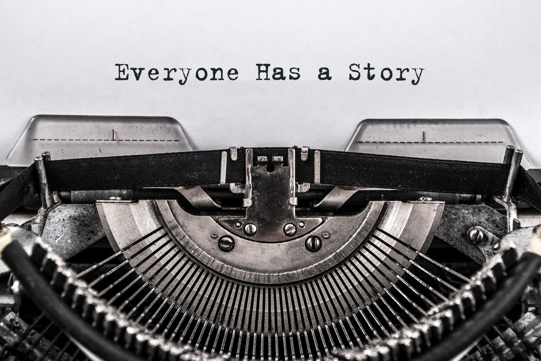 typewritereveryonehasastory